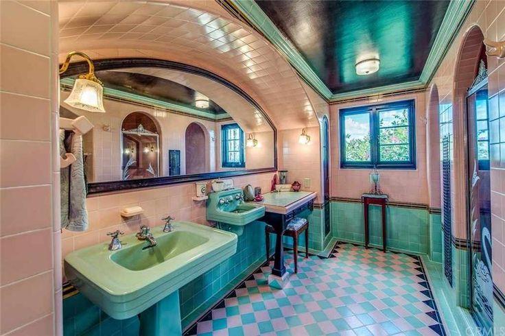 In 1936 Spanish Eclectic home, Santa Ana, California.