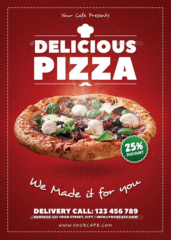 Best 25+ Pizza flyer ideas on Pinterest Restaurant flyer, Pizza - restaurant flyer