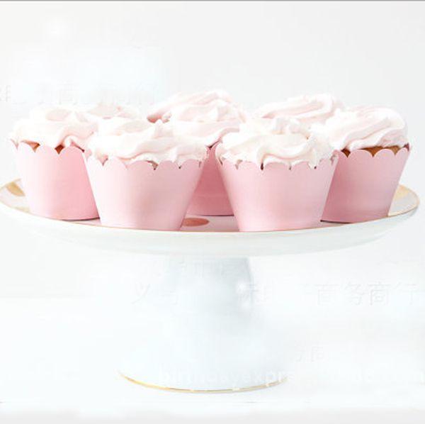 7-дюймовый 9-дюймовый одноразовые фольга штемпелюя день рождения розовый бумажные тарелки детский торт тарелки вечеринку салфетки тарелки