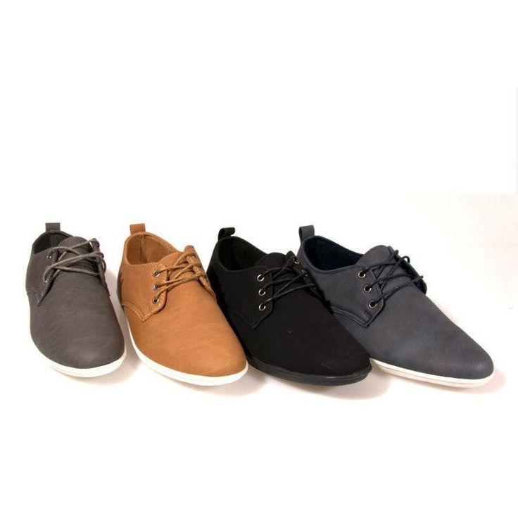 Stylowe Polbuty 82 Khaki Dress Shoes Men Stylish Shoes Shoes