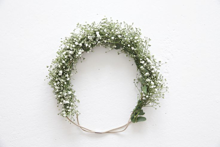 Midsummer head wreath in 1-2-3 - Stylizimo