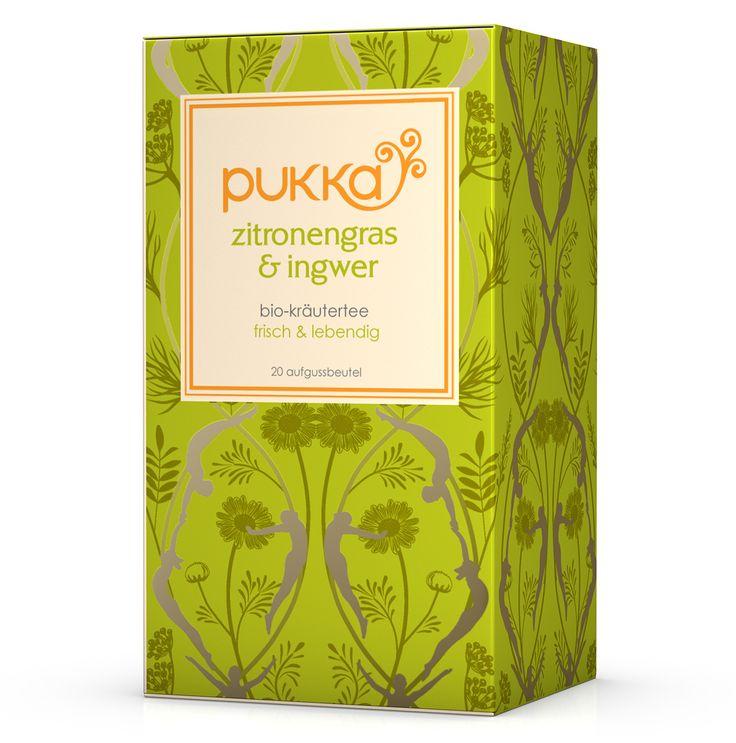 Zitronengras & Ingwer, bio - Pukka Tee bei YOGISHOP | Yoga, Yogamatten & Yoga-Zubehör
