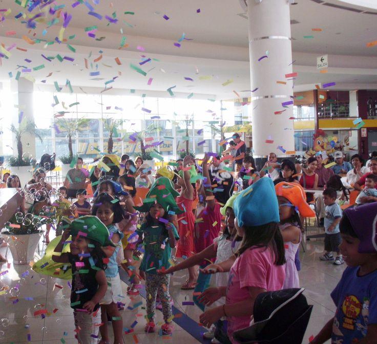 Fiesta para niños en Open Plaza Angamos
