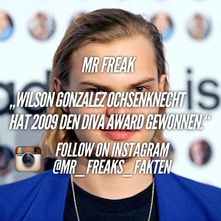 Fakt über Wilson González Ochsenknecht. Wollt ihr noch mehr Fakten?! Dann schaut doch mal auf Instagram vorbei unter @mr_freaks_fakten