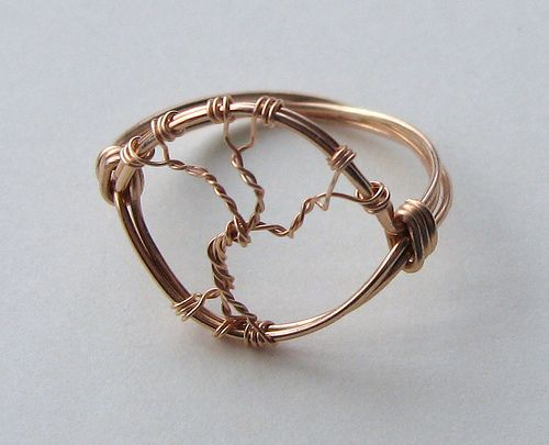 Bronze Tree of Life ring (mine) | Blogged about here louiseg… | Flickr