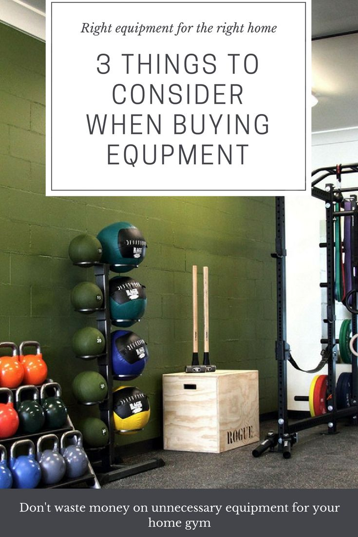 Donu0027t start getting equipment for your home