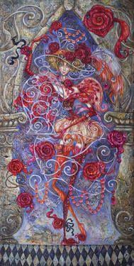 "Artist Elvira Baranova. Painting, ""Spirit of the Beauty""."