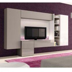 1000 id es sur le th me meuble tv led sur pinterest tv for Meuble mural roche bobois