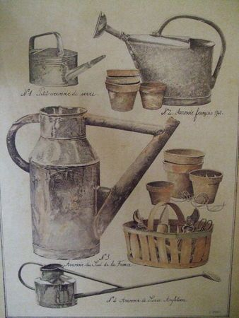 ... old watering cans, illustration...                                                                                                                                                                                 More