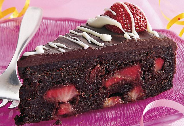 I love strawberry and chocolate together!