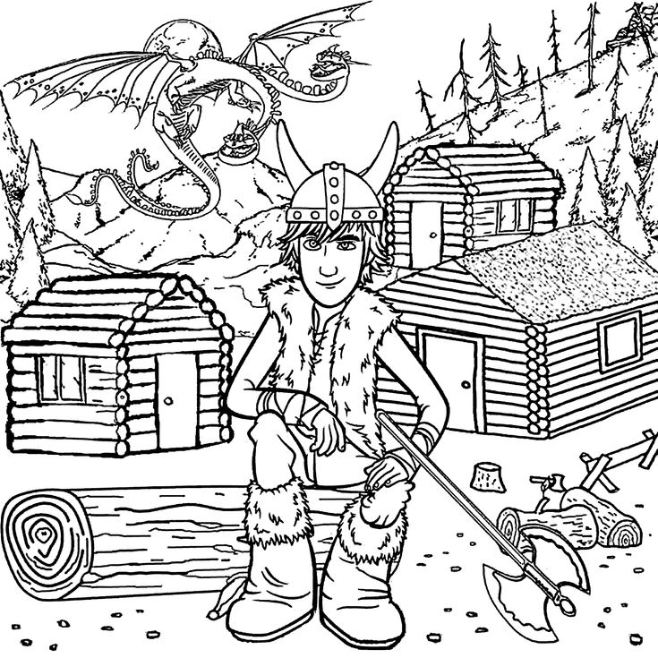 Hiccup from How to train your dragon