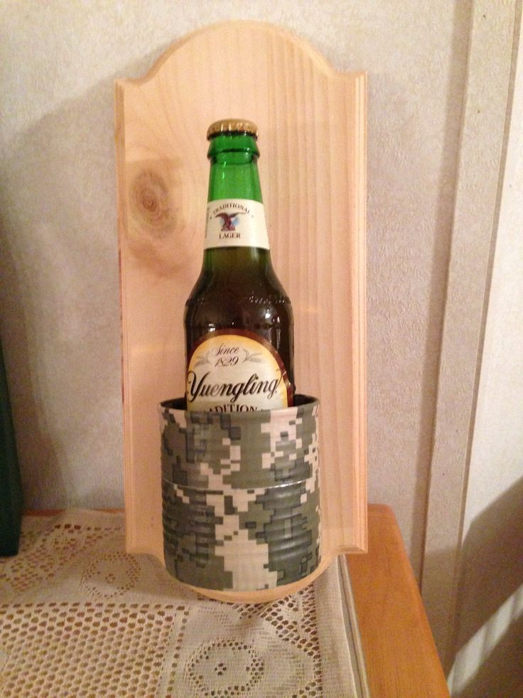 Redneck Man Cave Decor : Redneck wall mounted beer holder creativity at it s