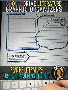 Google Drive Graphic Organizers: Reading Literature