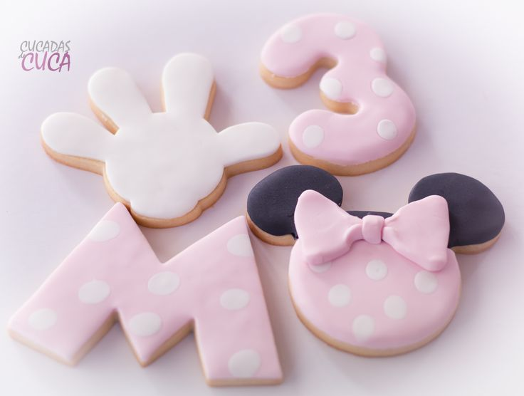Galletas Minnie Mousse