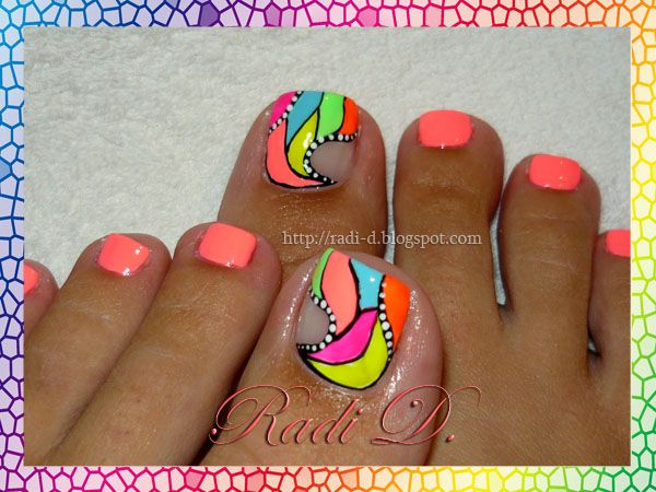 84 best toes images on pinterest toe nail art nails design and its all about nails nail nails nailart prinsesfo Image collections