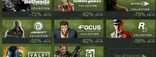 Steam summer sale is up and offering cheap games!  Try not to spend all your savings!