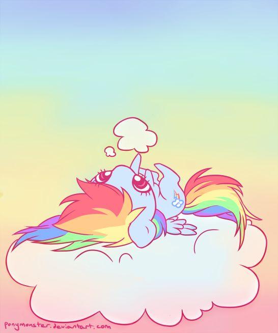 redonk rainbow dash by ponymonster (deviantart) #MLPFiM