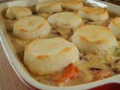 Chicken pot pie casserole – Drizzle Me Skinny!