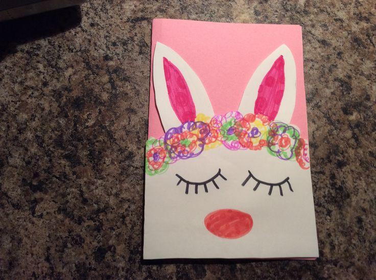 Carte lapin