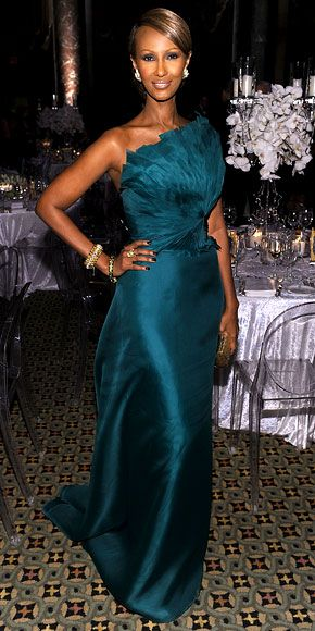 Iman: Teal Feathers Peacocks, Fleur Dresses, Blue Color, Good Girls, Angel Sanchez, Supermodels Iman, Beautiful Dresses, Birthday Iman, Africans Beautiful