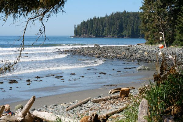 China Beach, Vancouver Island. Fond memories of beautiful walks.