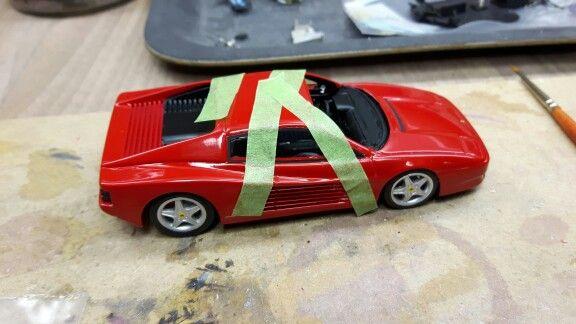 F512TR window fitting & glued in