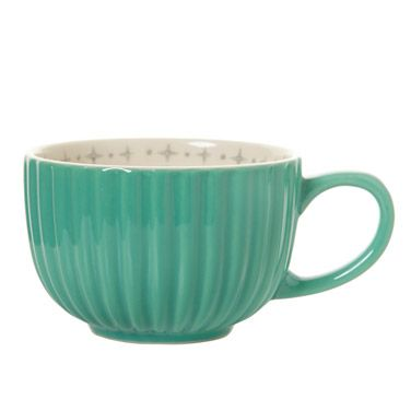 mint Carolyn Donnelly Eclectic Retro Mug