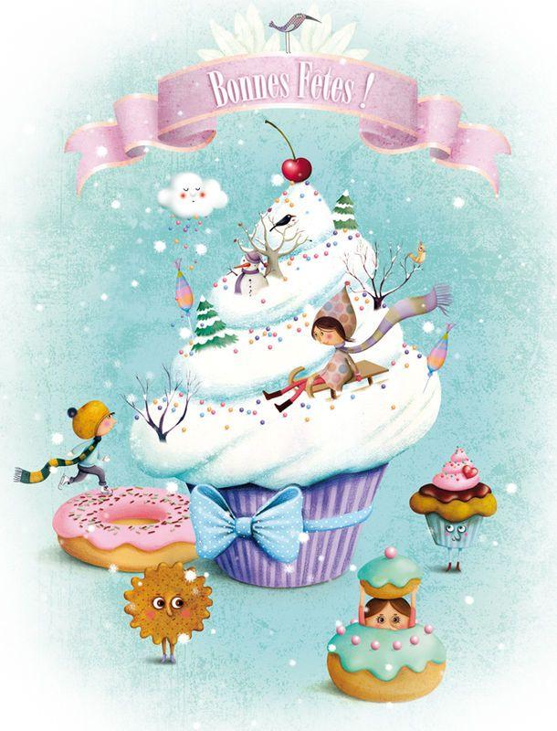 Je sais pas vous mais moi je pars en vacances… :) Je vous souhaite de très bonnes fêtes et vous retrouve l'année prochaine ! A bientôt ! by marie desbons