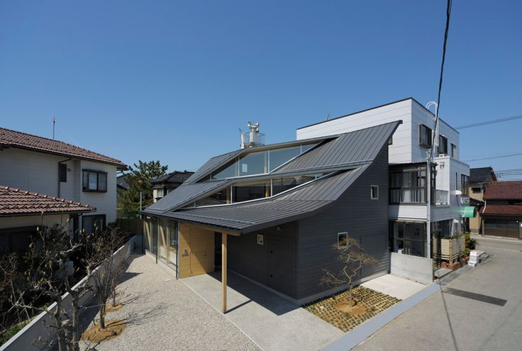 nakae architects: facing true southResidential Architecture, Solar Gain, Face Direction, South House, Naka Architects, Face True, Clerestory Windows, Architecture Design, True South