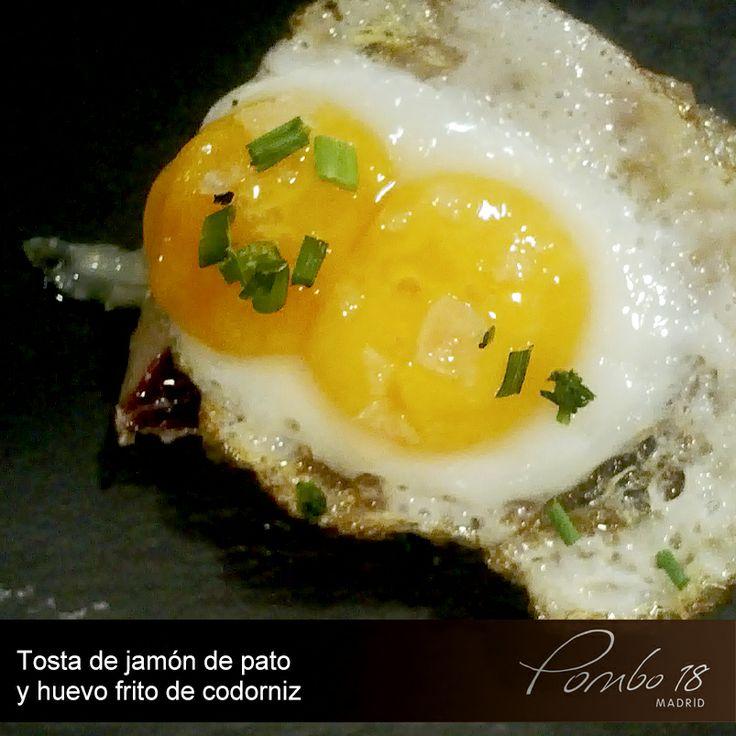 Tosta de jamón y huevo