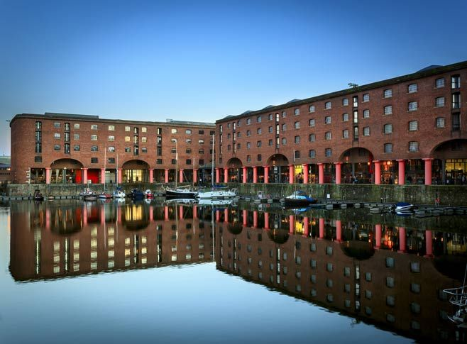 The Albert Dock, Liverpool - Julianne's father, owns warehouses and does imports and exports here.