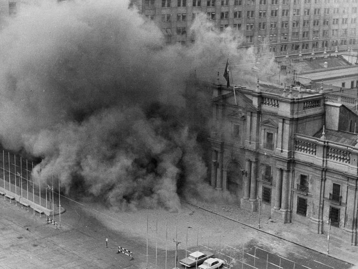 Military jets bombed the presidential palace in Santiago, Chile, in the 1973 coup against President Salvador Allende's government. The intervention of the C.I.A. in Allende's downfall is more than relevant today, as it is clear that American presidents continue to believe that it is their right to meddle, intrude and spy wherever they believe the interests and security of their country are in peril — in other words, anywhere and everywhere.