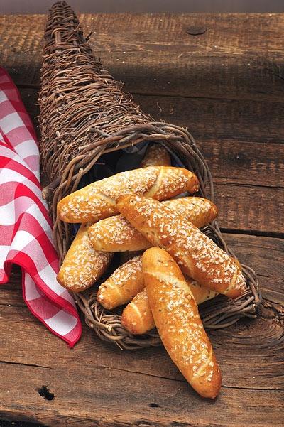 Breadworks Salt Sticks I Miss Pittsburgh Bread Dinner Rolls