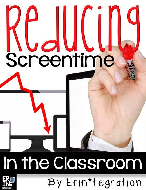 Tips for reducing screen time in the 1:1 (or close to it) classroom. Definitely something worth reading if your students are spending a lot of time in class on devices!