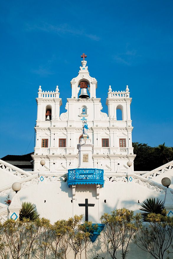 The 17th-century Church of Our Lady of the Immaculate Conception is a Panaji landmark.