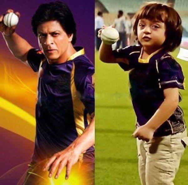 Shahrukh Khan & son AbRam