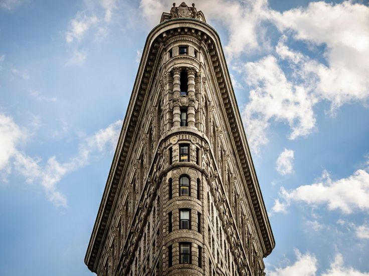 Though it's often overshadowed by NYC's bigger buildings, the Flatiron Building is a beauty, and was one of the city's first skyscrapers. The plaza below the building (situated next to Madison Square Park) offers a great vantage point for snapping a shot of the triangular building itself. Walk further up on Fifth Avenue toward 26th Street to get the crowds out of your shot.
