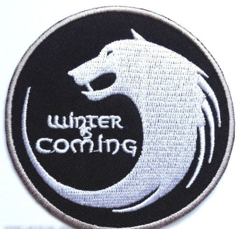 Winter-is-Coming-Patch-House-Stark-Emblem-Embroidered-Badge-Game-of-Thrones-Wolf