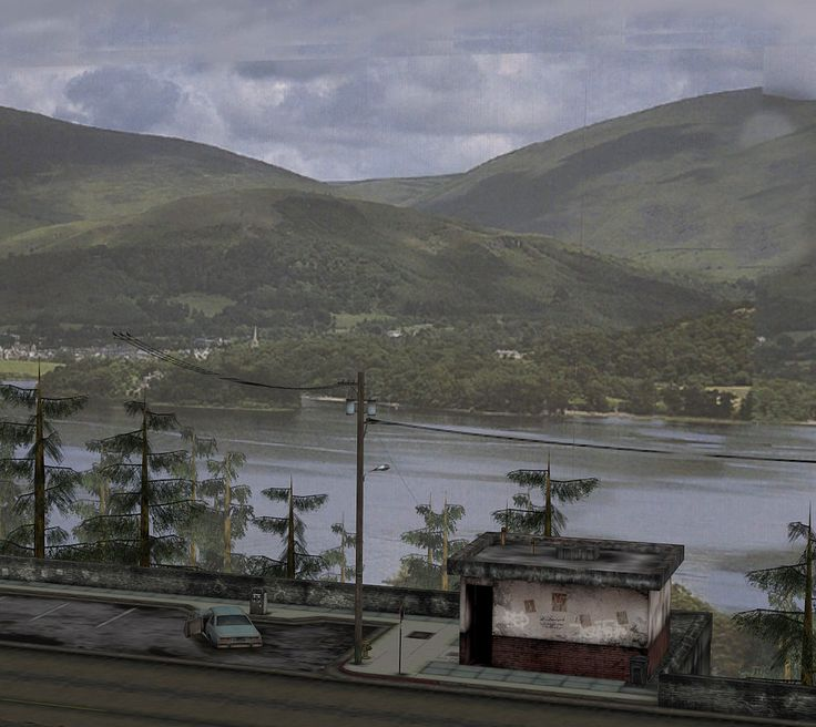 Silent Hill 2 - viewing platform (Download) by undeadmiko.deviantart.com on @deviantART