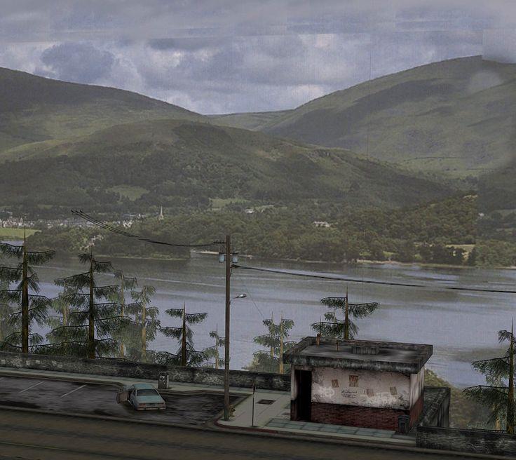 Silent Hill 2 - viewing platform (Download) by undeadmiko.deviantart.com on @deviantART