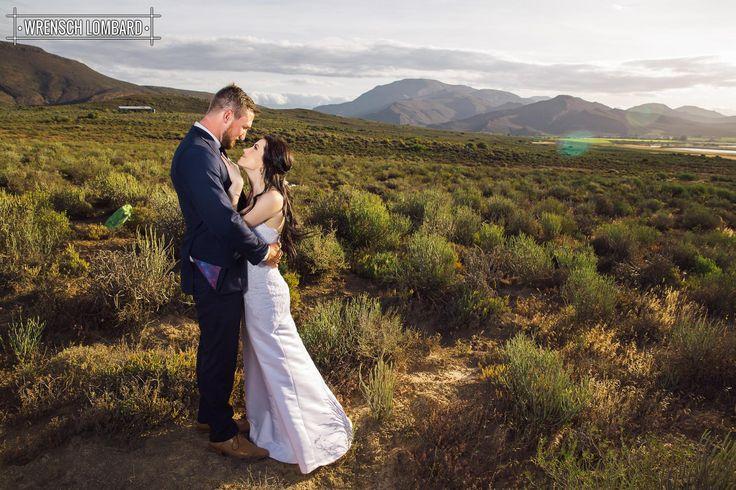 Andre & Dane - Bon Cap wedding landscape November brides