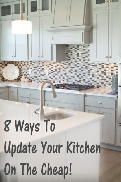 8 ways to update your kitchen on a budget new decorating for Kitchen upgrade ideas on a budget