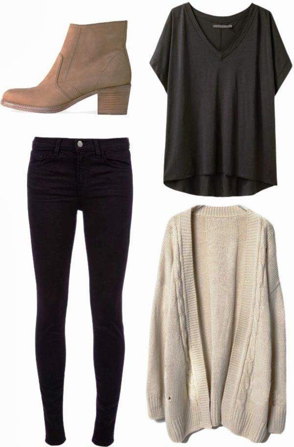 Simple casual fall outfit