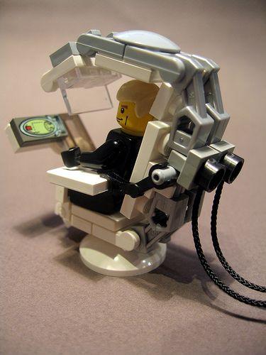 Lego cockpit seat idea