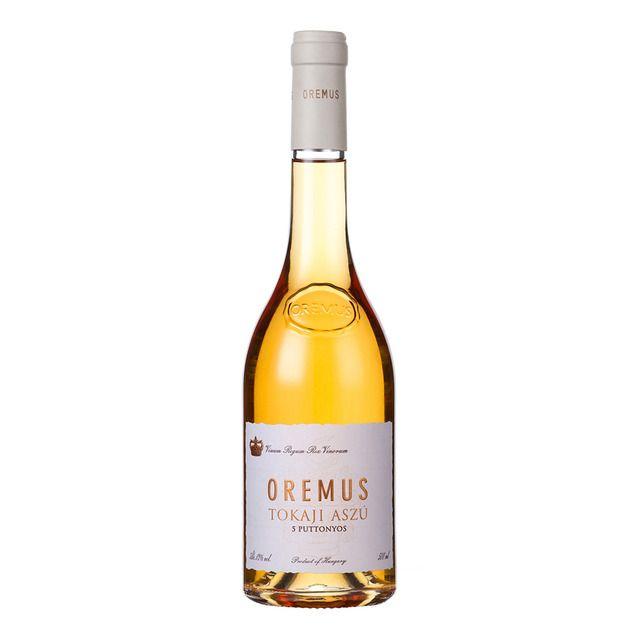 Vino blanco dulce Oremus Tokaj Aszú 5 puttonyos Bodegas Vega Sicilia
