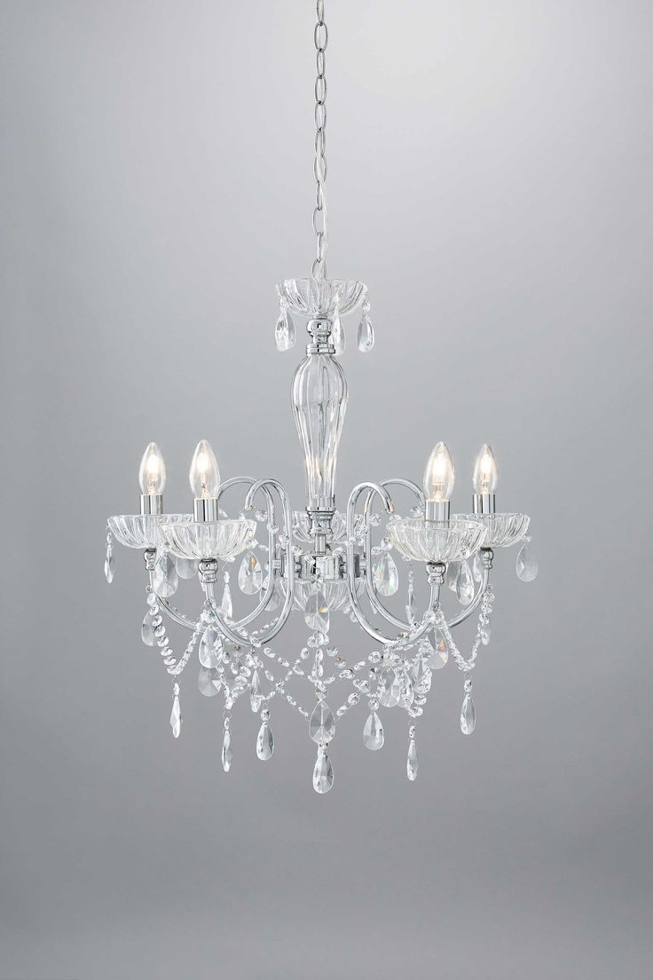 Edith 5 Light Chandelier | BHS Glitz and glamour lighting for any room in your home.