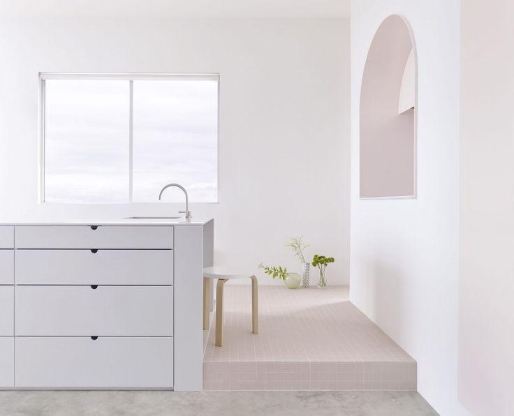 Seamless Precision | Footscray Apartment | Corian