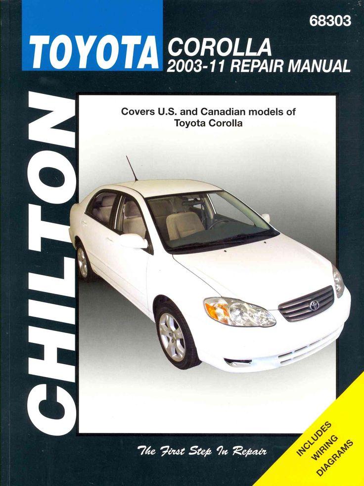 Chilton Total Toyota Corolla 2003-11 Repair Manual
