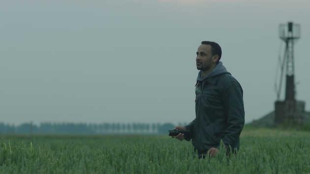 Still uit de film A song adrift (2012) van Yeb Wiersma, ontwikkeld in het kader van Mapping Flevoland. © Yeb Wiersma