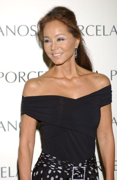 Isabel Preysler, presides the opening of the new 'Porcelanosa' Store on May 5, 2005 in Madrid, Spain.